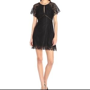 NWT ASTR The Label Shelley Black Lace Dress